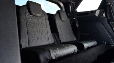 Peugeot 5008 - rear seats