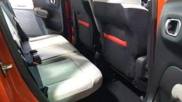 Citroen C3 Aircross rear seats