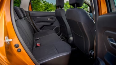 Dacia Duster - back seats