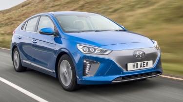 Hyundai Ioniq Electric - tracking front