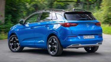 Vauxhall Grandland PHEV - rear action