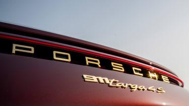 Porsche 911 Targa 4S Heritage Design Edition - rear badge