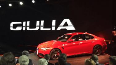 Alfa Romeo Giulia - reveal