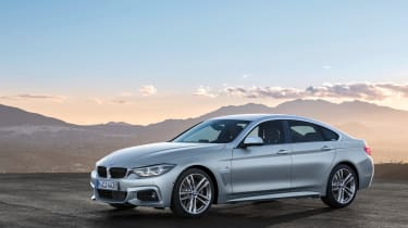 BMW 4 Series facelift 2017 - Gran Coupe front quarter