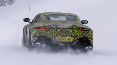 Aston Martin Vantage prototype - full rear
