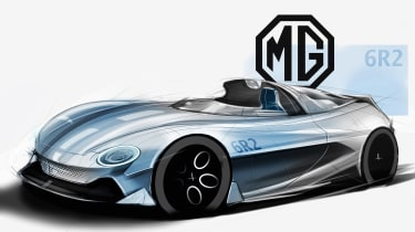 MG 6R2 sketch