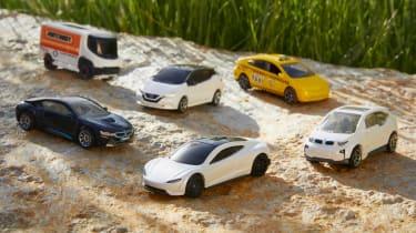 Matchbox carbon neutral die-cast cars
