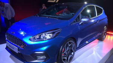 Ford Fiesta ST show - front/side
