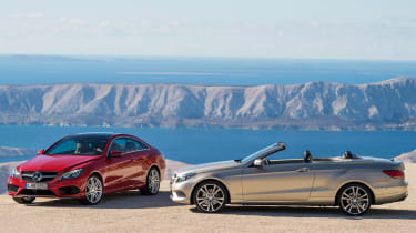 Mercedes E-Class Coupe and Cabriolet