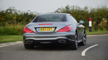 Mercedes SL 400 - rear cornering