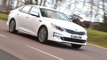 Kia Optima 2016 - front tracking