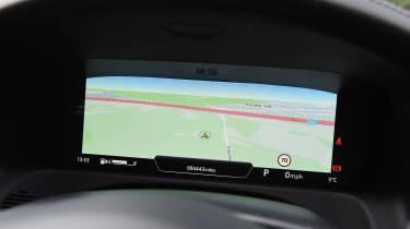 Jaguar XF long term - second report sat-nav