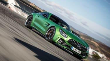 Mercedes-AMG GT R - track front cornering 3