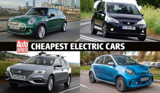 Cheapest electric cars header
