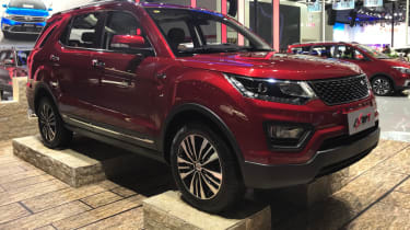Chinese copycat cars - Changan CX70 T