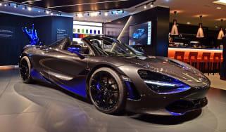 McLaren 720S Spider by MSO - Geneva front
