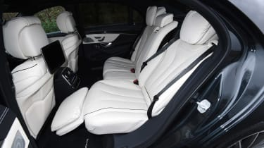 Mercedes S-Class - rear seats reclined