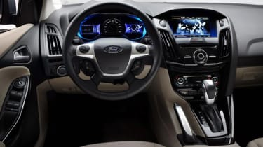 Ford Focus Electric - dash