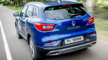 renault kadjar tracking rear