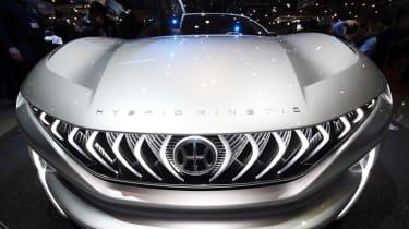Pininfarina HK GT concept - Geneva full front