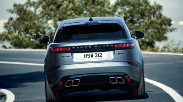 Range Rover Velar SVAutobiography - full rear action