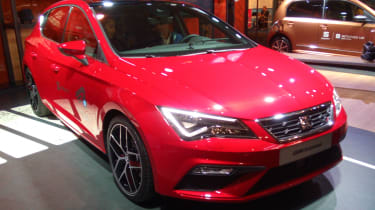 SEAT Leon Cristobal - front