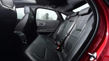 Jaguar XF 2.0d AWD 2016 - rear seats