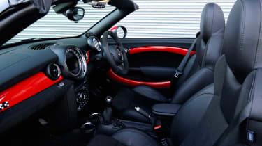 MINI JCW Roadster interior