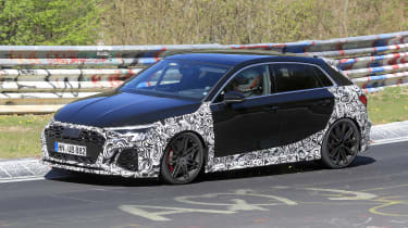 Audi RS3 2021 spy