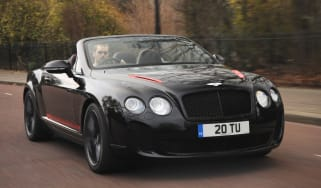 Bentley Continental Supersports Convertible front