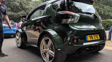 Aston Martin V8 Cygnet rear end