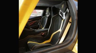 Lamborghini Aventador SV 2015 - seats
