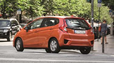 Honda Jazz - rear