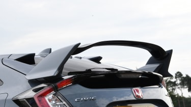 Honda Civic Type R - spoiler