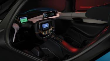 NextEV NIO EP9 electric hypercar - inside