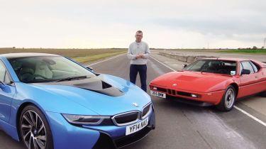 BMW i8 vs M1