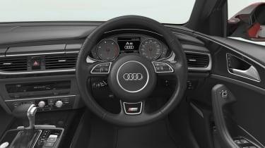 Audi A6 Black Edition dash