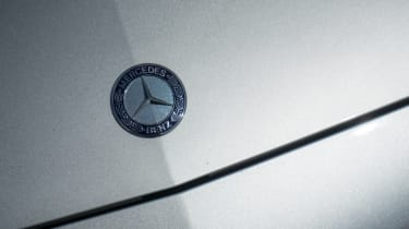 Mercedes C63 AMG saloon - badge