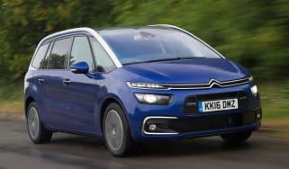 Citroen Grand C4 Picasso 2016 - front tracking