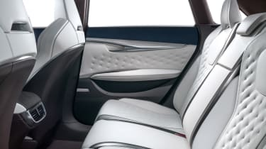 Infiniti QX50 Concept - rear seats