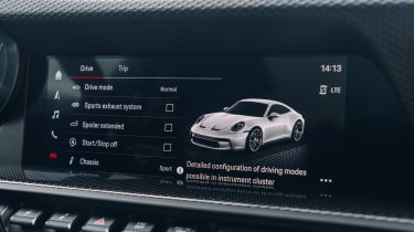 Porsche 911 GT3 Touring Package - infotainment