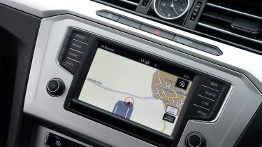 Volkswagen's touchscreen infotainment system is lifted straight from other models in the VW range. You can upgrade to a larger 8-inch unit if you want.