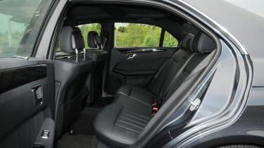 Mercedes E250 CDi rear seats
