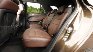 Mercedes ML 250 Bluetec Sport seats