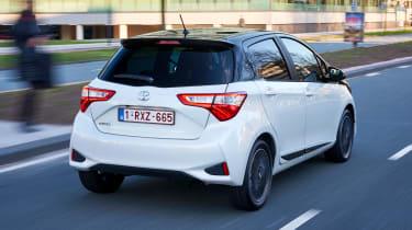 Toyota Yaris - rear action
