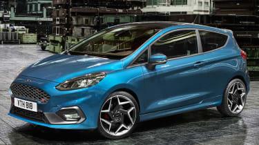 Ford Fiesta ST 2017 - front quarter