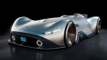 Mercedes EQ Silver Arrow - front