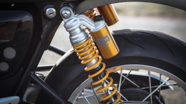 Triumph Thruxton R review - rear shocks