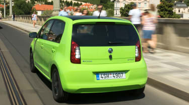 Skoda Citigo - rear action