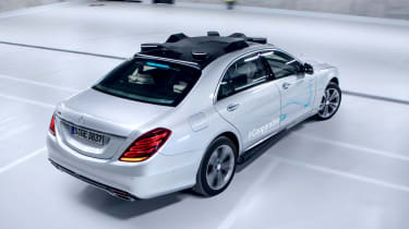 Mercedes Co-operative car - rear 3/4